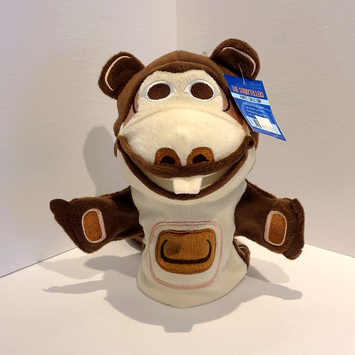 """Bizzy the Beaver"" Hand Puppet"