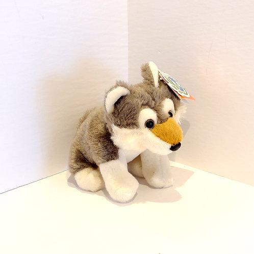 "5"" Tiny Wolf Stuffed Animal"