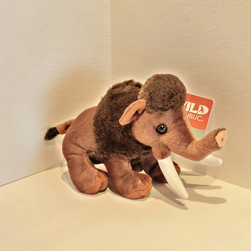"8"" Mini Wooly Mammoth Stuffed Animal"