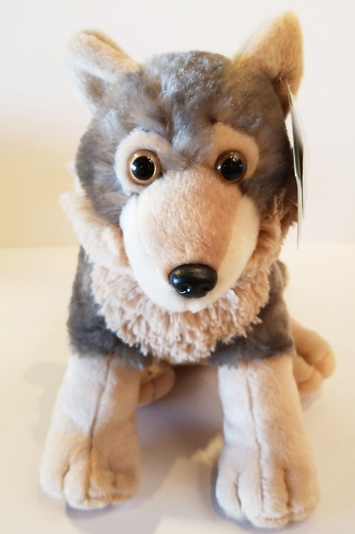 "12"" Wolf Cub Stuffed Animal"