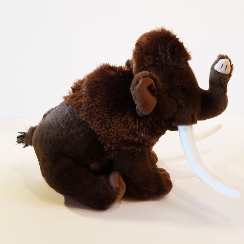 "12"" Woolly Mammoth Stuffed Animal"