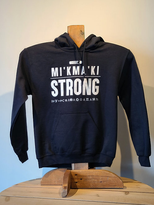 Mi'kma'ki Strong 1752 Hoodies by Johnathan Beadle
