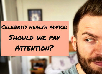 Celebrity health advice: should we pay attention?
