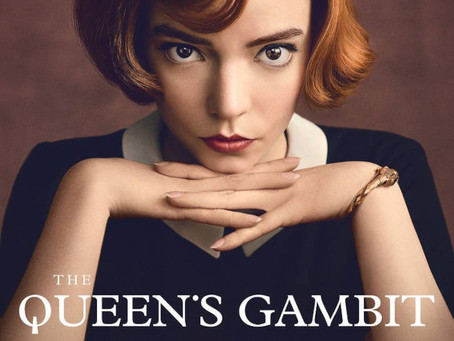 Learning chess with The Queen's Gambit