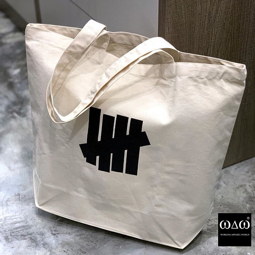日版 Undefeated 5 Strikes Canvas Tote Bag