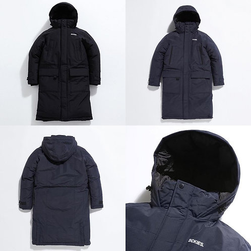●預訂貨品● Dickies Basic Logo Long Padded Jacket