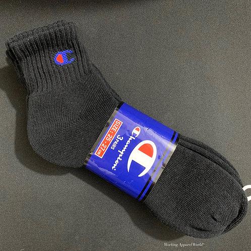 日版 Champion Middle Socks 中筒襪 1Pack (3 pairs)