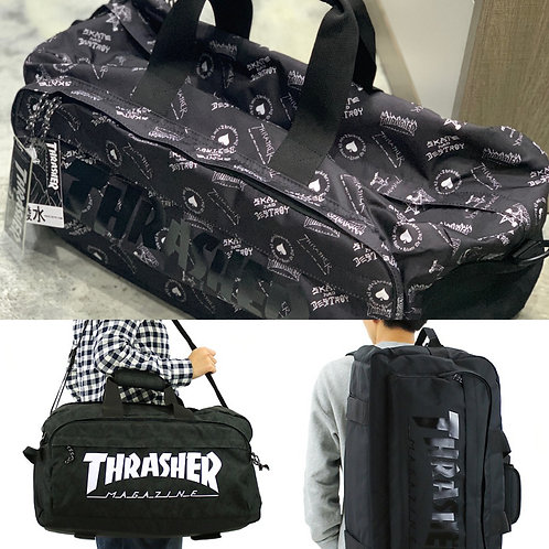 ●預訂貨品● 日版Thrasher 3 way Bag Shoulder,Boston,Backpack 大容量