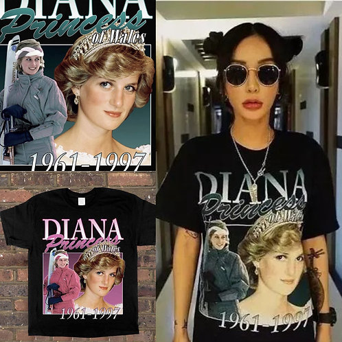 ●預訂貨品● Homage Princess Diana S/S Tee