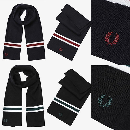 ●預訂貨品● Fred Perry Logo Wool Scarf