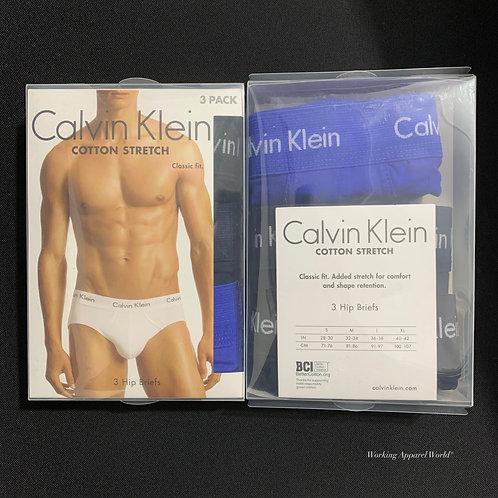 Calvin Klein Men's Cotton 彈性 Brief 3件裝