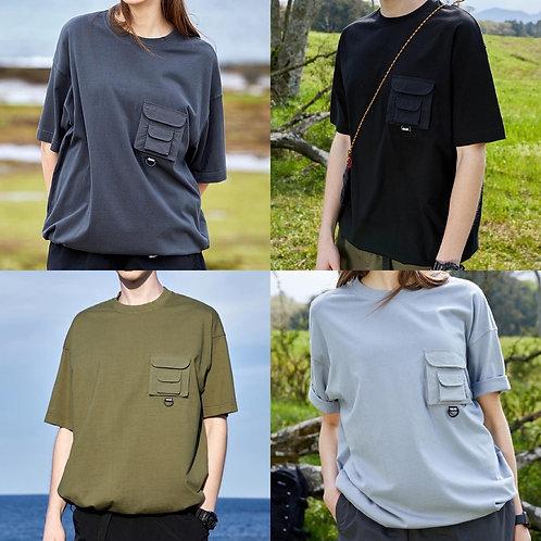 ●預訂貨品● 韓國品牌🇰🇷Fluke Backpacking Pocket S/S Tee