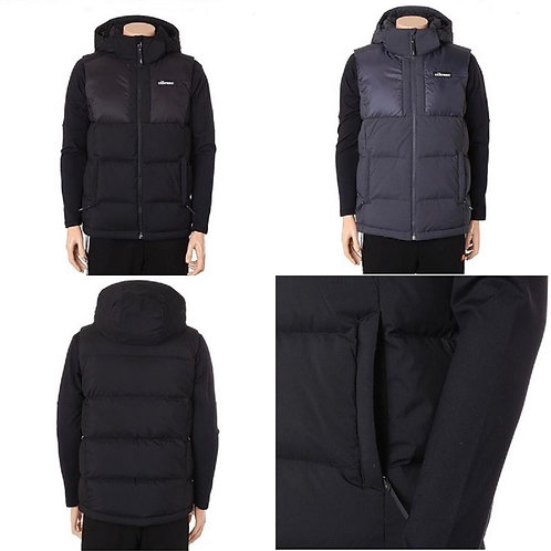 ●預訂貨品● Ellesse Small Logo Hoods Padded Vest