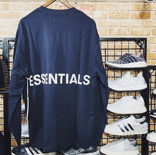 Fear of god Essentails Back Quote Boxy Cutting L/S Tee
