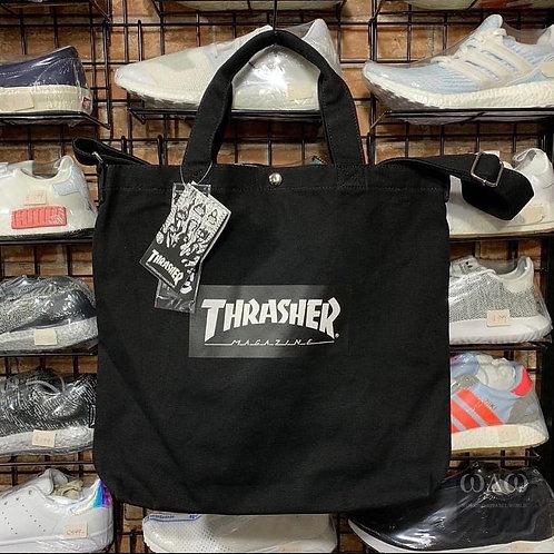 ●預訂貨品● 日版 Thrasher Mag Logo 大帆布2用袋