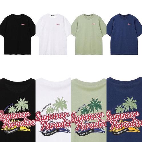 ●預訂貨品● Guess Summer Logo S/S Tee