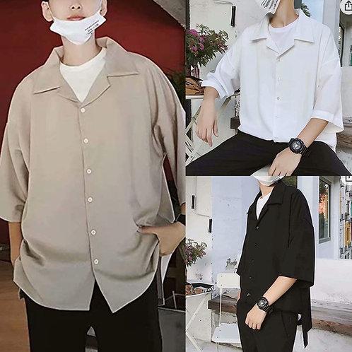 ●預訂貨品● 日本品牌🇯🇵Lossely Open collar S/S Shirt
