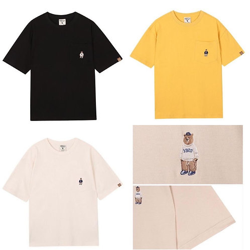 ●預訂貨品● WHO.A.U. Pocket Small Logo Pocket S/S Tee