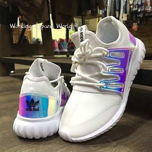 low priced 53a53 c7ca6 clearance adidas tubular radial white hologram 850d1 5ad89
