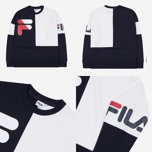 ●預訂貨品● Fila Big Logo 2 Tone Sweatshirt