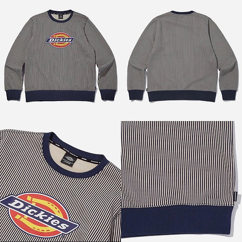 ●預訂貨品● Dickies Big Logo Stripe Sweatshirt