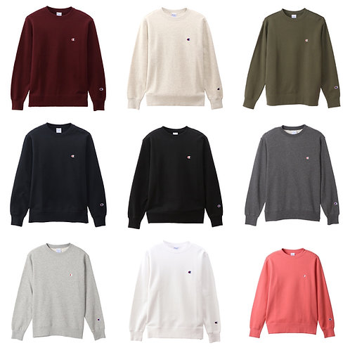 ●預訂貨品● 日版 Champion Small Logo Sweatshirt