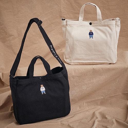 ●預訂貨品● Who.A.U. Bear Logo Shoulder Bag