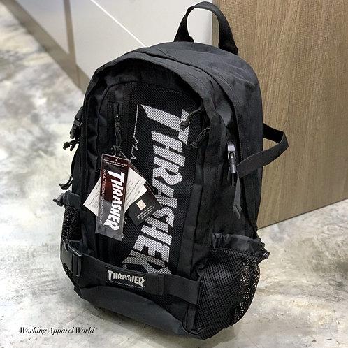 日版 Thrasher Commuter Functional Backpack - Black-White