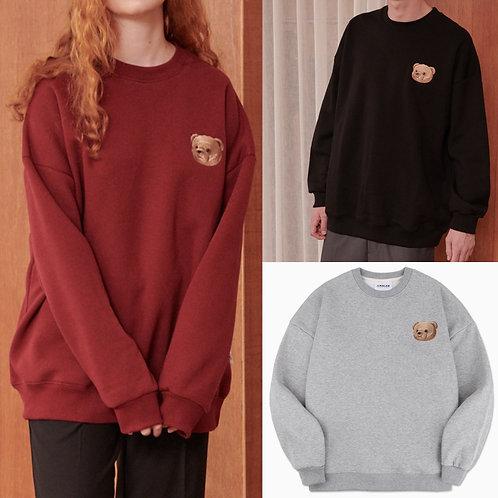 ●預訂貨品●Ambler Bear Logo Overfit Sweatshirt