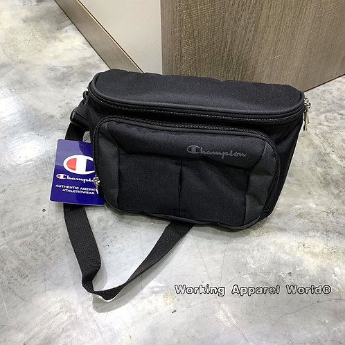 日版 Champion Pouch Waist Bag - Black