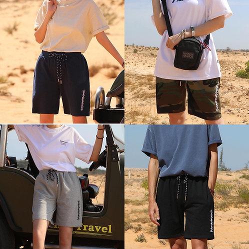●預訂貨品●  韓國品牌🇰🇷Fluke Logo Cotton Short