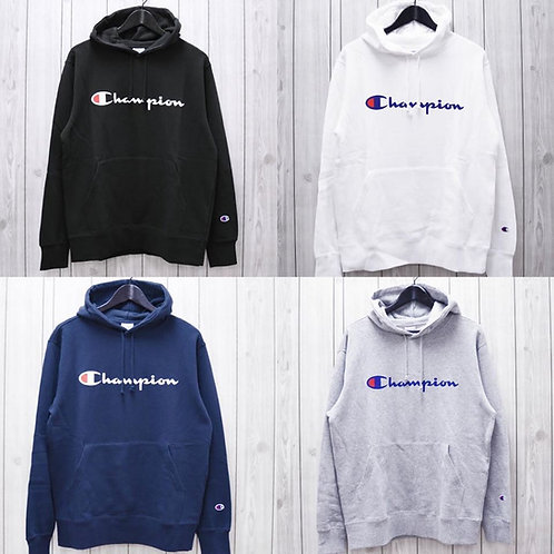 ●預訂貨品● 日版 Champion Text Logo Sweater Hoodie