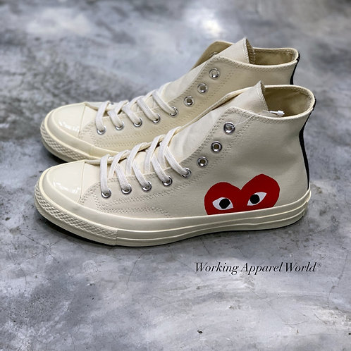 CDG Play x Converse Chuck Taylor All Star 70s High