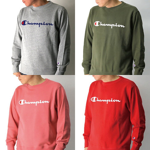 ●預訂貨品● 日版 Champion Text Logo Sweatshirt
