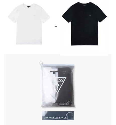 ●預訂貨品● Guess Basic OG Logo Tee 2件裝 - Black + White