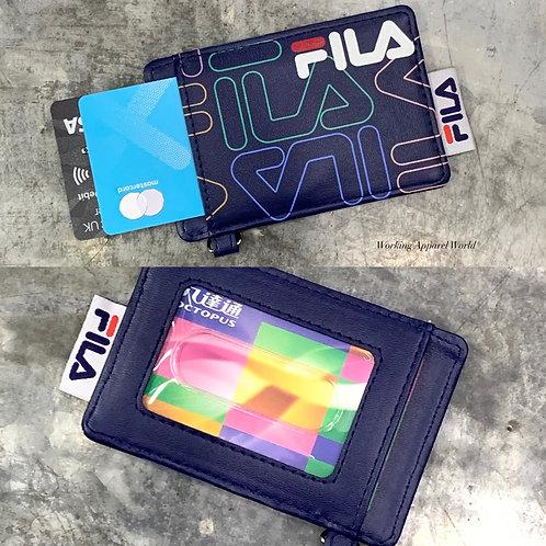 Fila Graphic Pass/Card Case - Navy