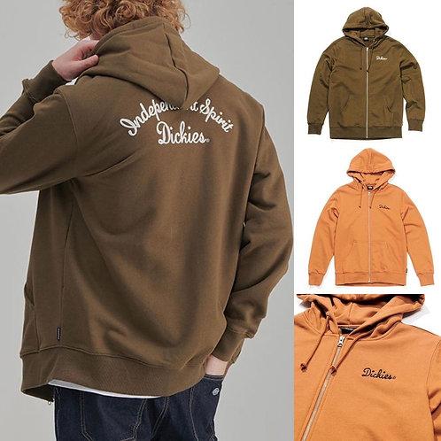 ●預訂貨品● Dickies Script Big Back Logo Zip Up Hoodie