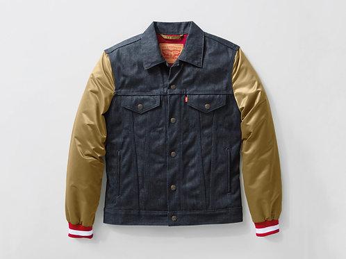 Levi's x NFL 49ERS Denim Varsity Trucker Jacket
