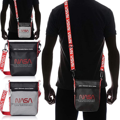 ●預訂貨品● 日版 NASA Mesh slot Tapey Logo Shoulder Bag