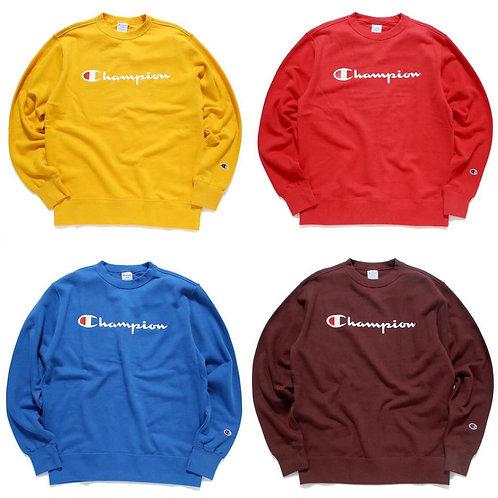 ●預訂貨品● 日版 Champion Text Logo Sweater