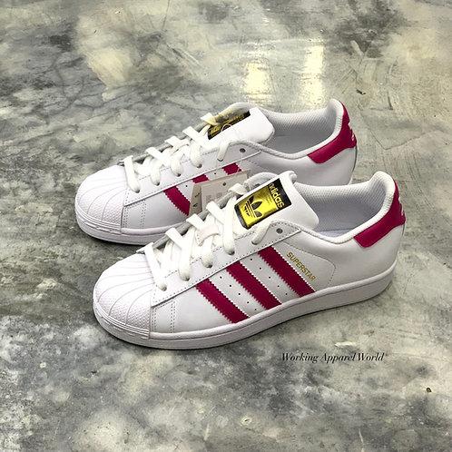 Adidas Superstar J - White/Pink