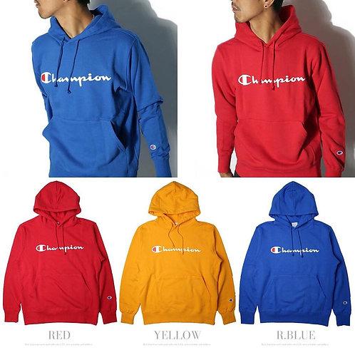●預訂貨品● 日版 Champion Text Logo Sweater Hoodie
