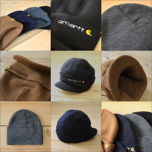 d9723fc44b7 Classic watch cap styling with eye visor • Logo label on front