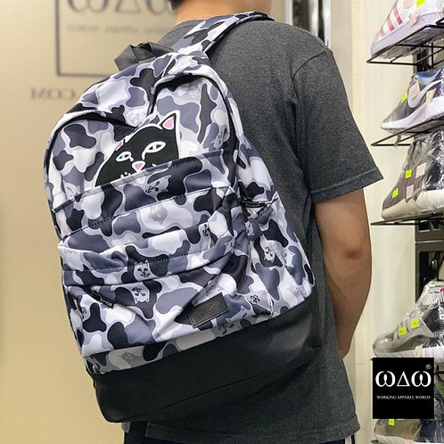 Ripndip Camo Grey Backpack