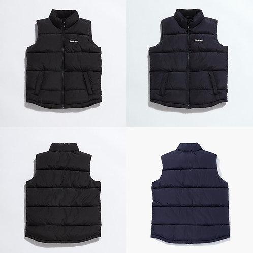 ●預訂貨品● Dickies Small Logo Padded Vest