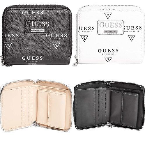●預訂貨品● Guess Meade Logo Zip Wallet