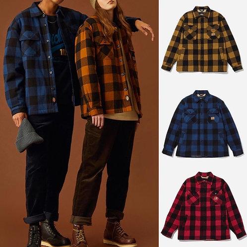●預訂貨品● Dickies Check Boa Shirt Jacket