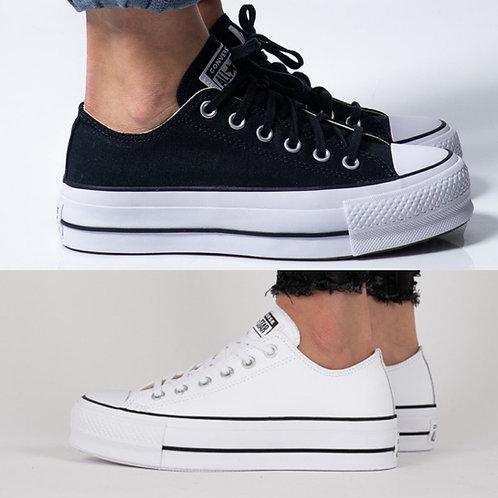 ●預訂貨品●  Converse Chuck Taylor All Star Lift Clean Leather Low