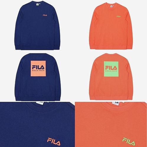 ●預訂貨品● Fila Square Logo Sweatshirt