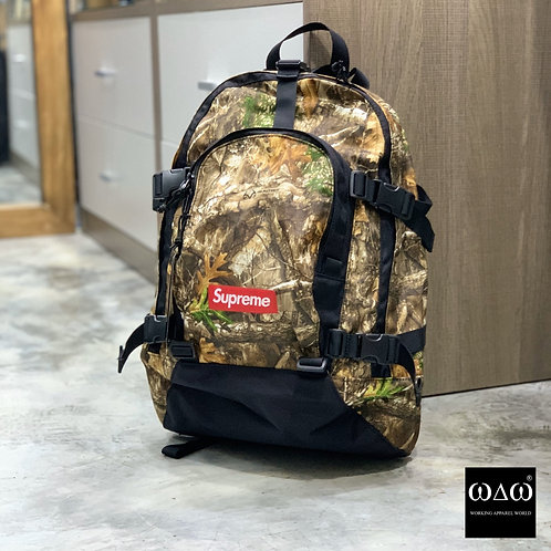 Supreme FW19 Backpack - Realtree Camo